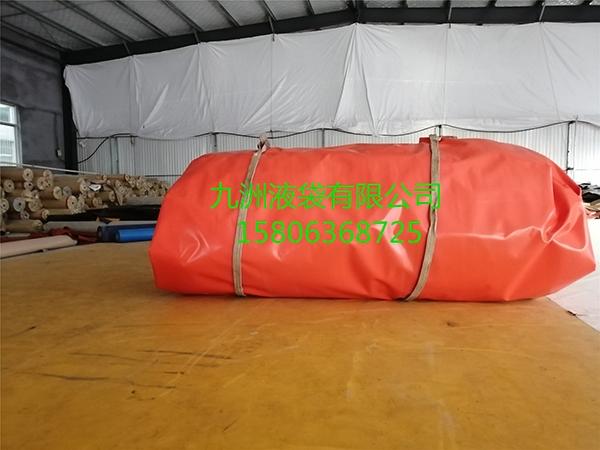 2000立方软体沼气池打包发货