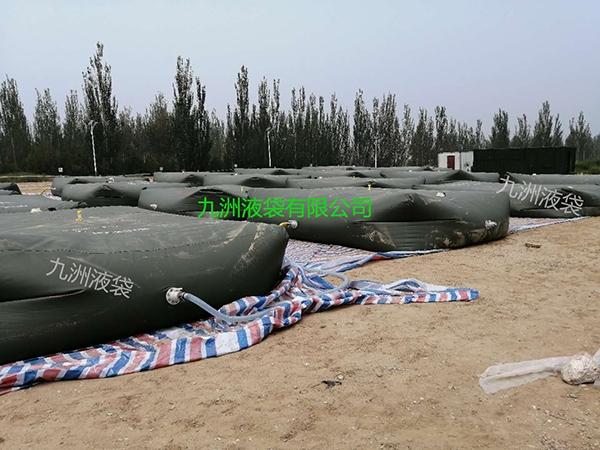 30立方军工移动水袋大批量组合