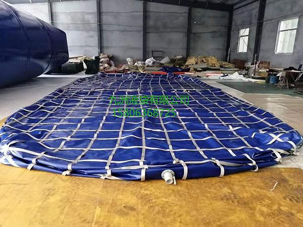 9   120立方带安全防护网桥梁预压水袋