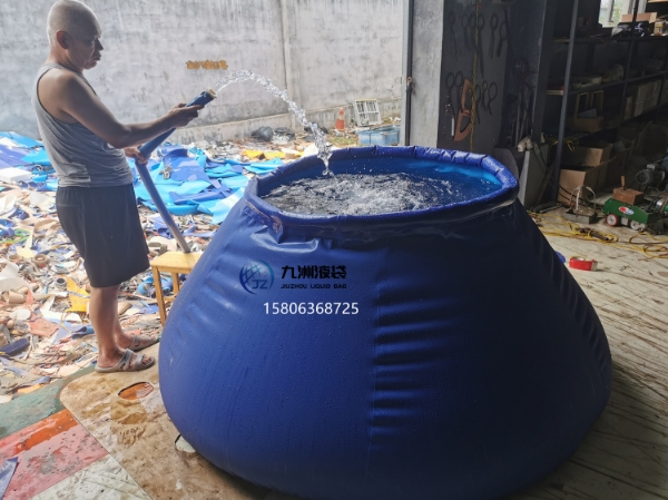 自升式消防水袋